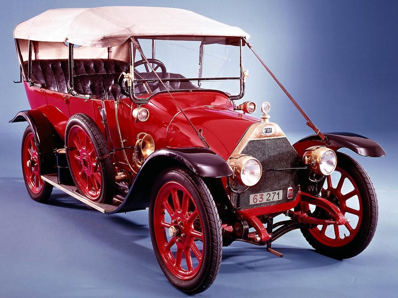 1915 FIAT 12-15 HP Zero