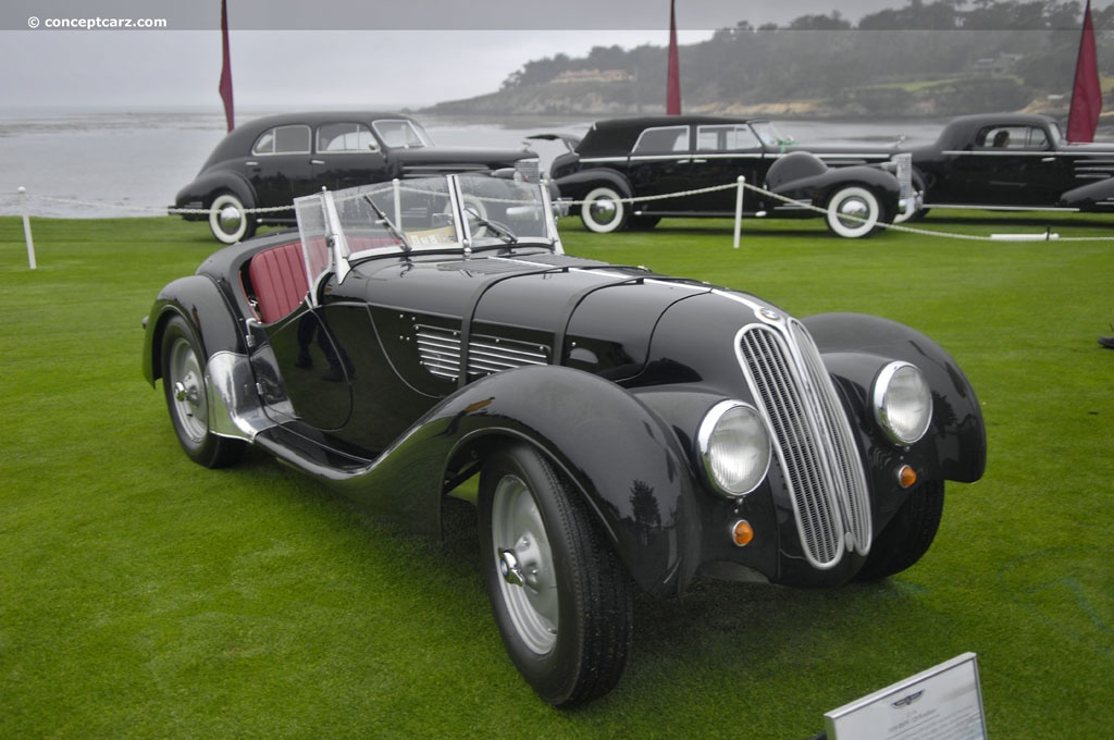 1939 BMW 328 - Partsopen