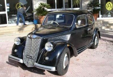 1946 Lancia Ardea - Partsopen