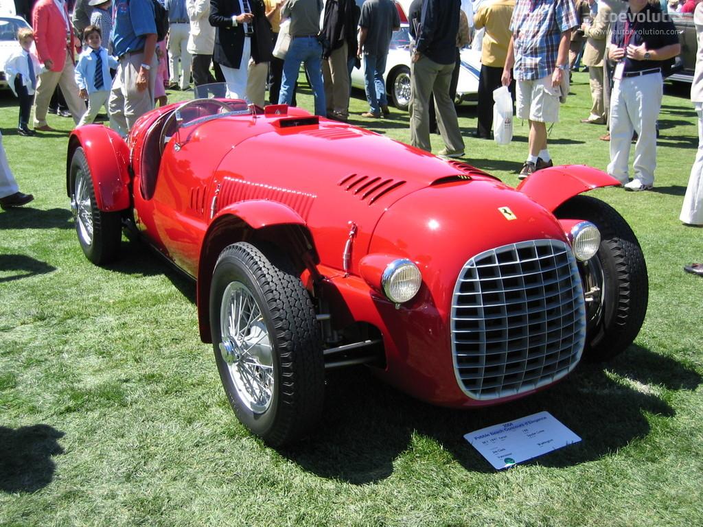 1950 Ferrari 166 Spider Corsa