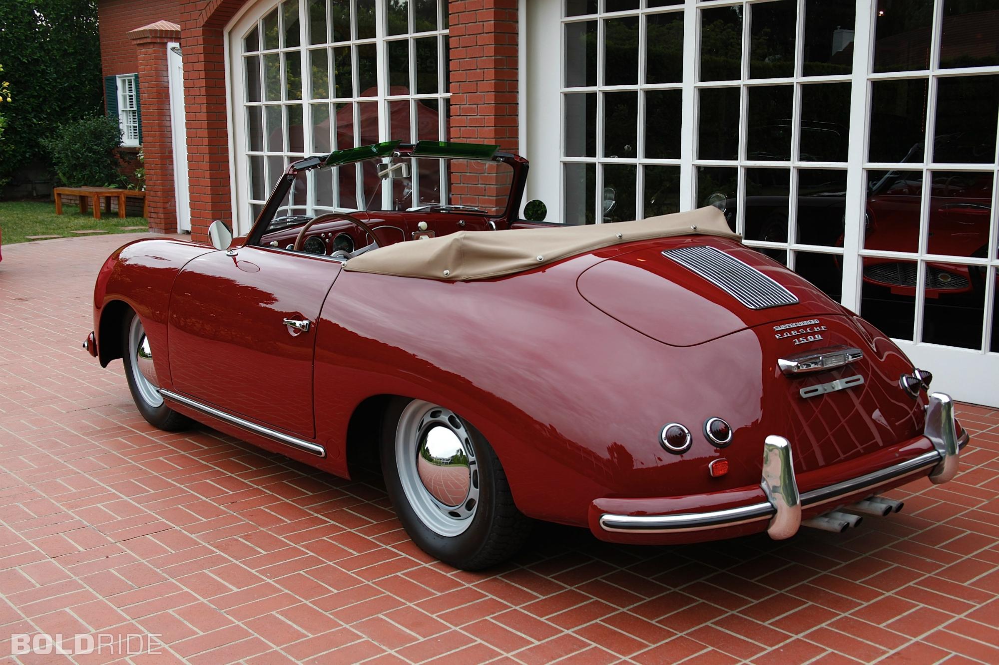 1953 Porsche 356 Partsopen