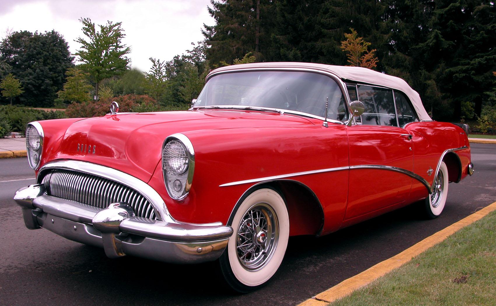 1954 Buick Skylark Partsopen