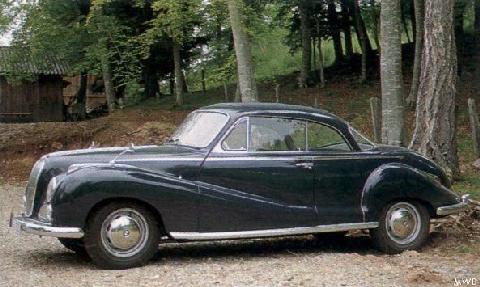1955 BMW 502 Coupe - Partsopen