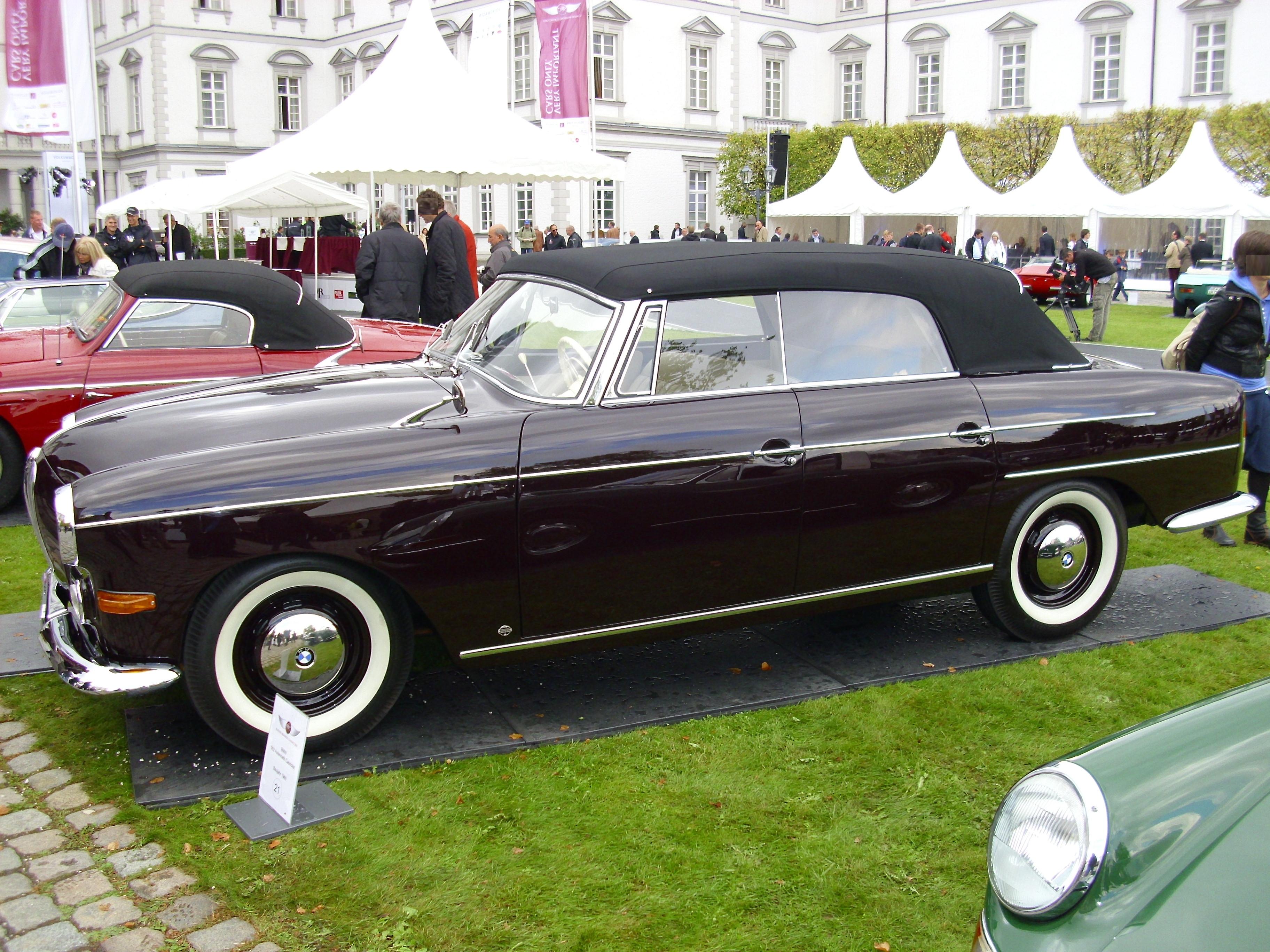 1960 bmw 502 - partsopen