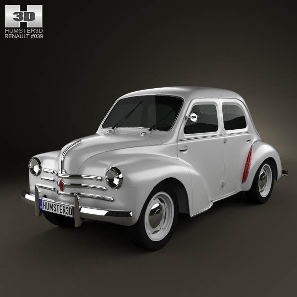 1961 Renault 4 CV