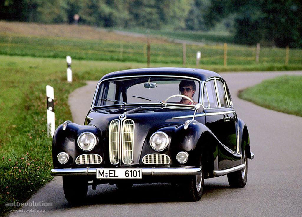 BMW 501⁄502 - Partsopen