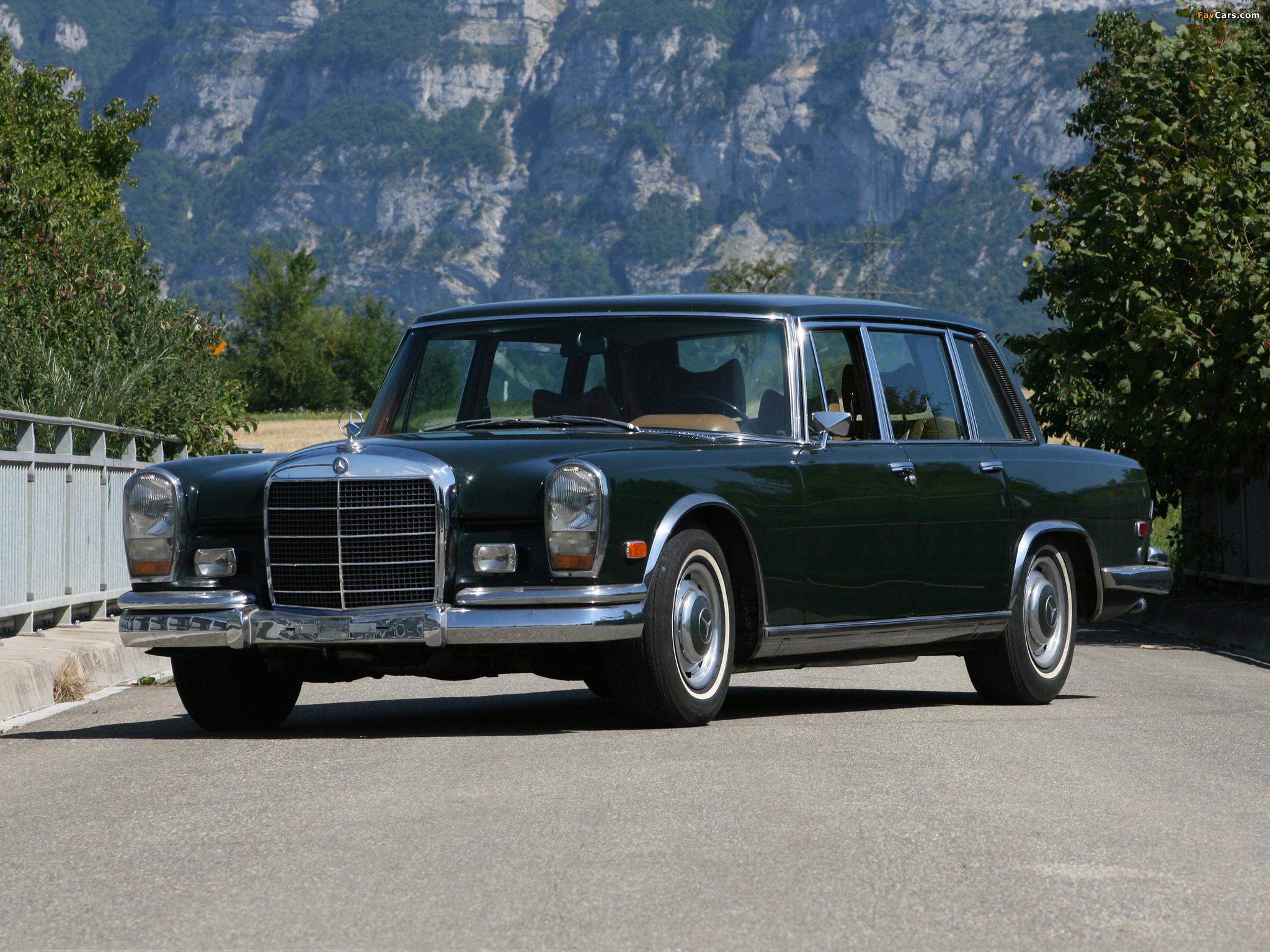 1964 Mercedes W100