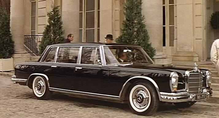 1966 Mercedes W100