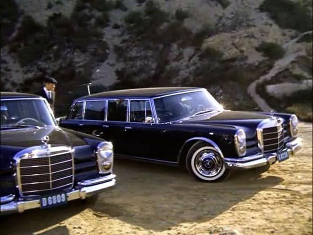 1967 Mercedes W100