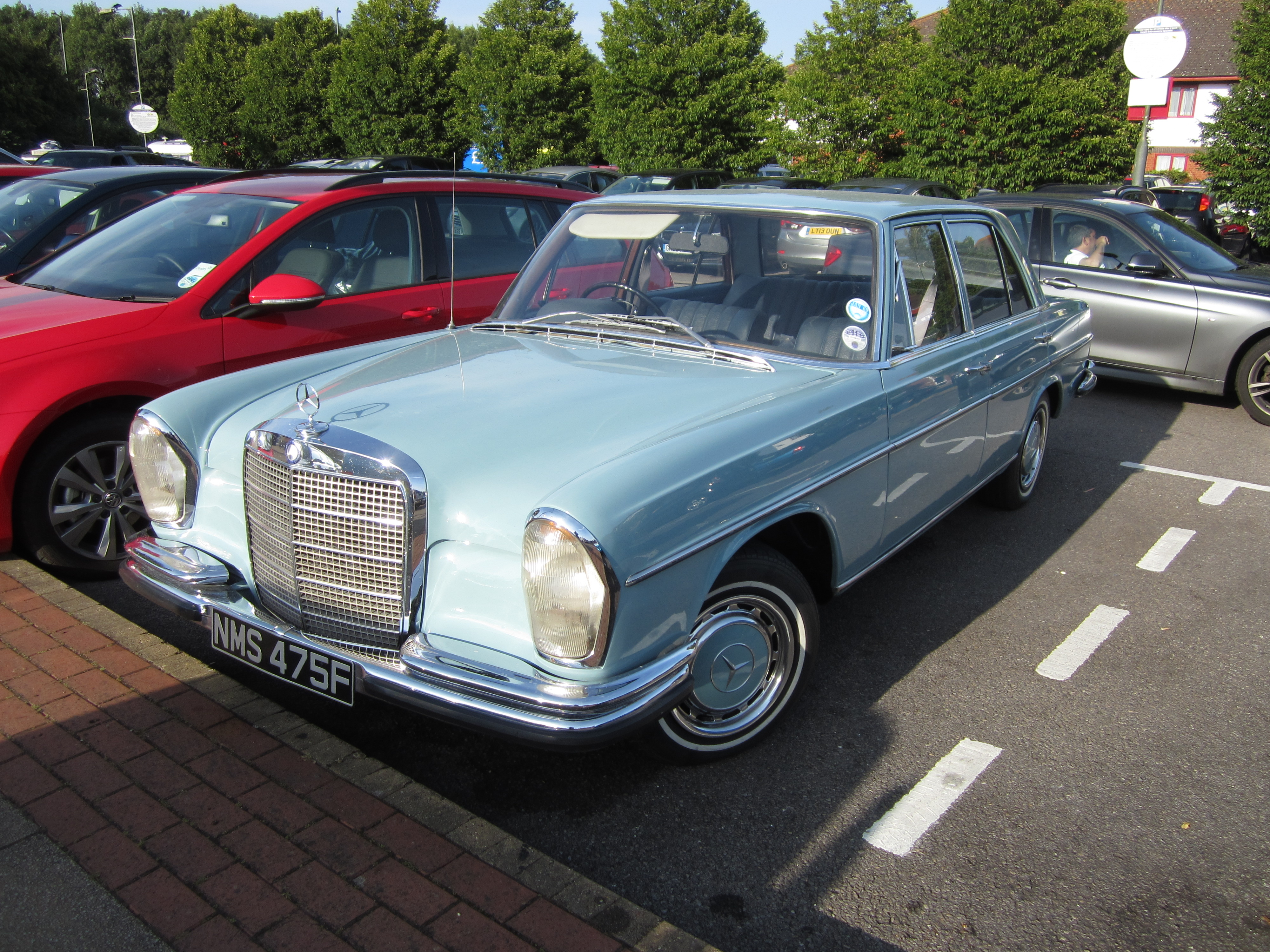 1968 mercedes w108 partsopen for Mercedes benz 108