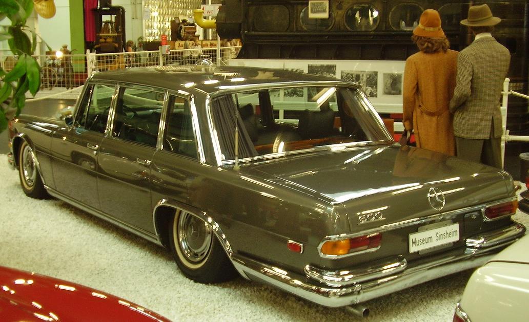1969 Mercedes W100