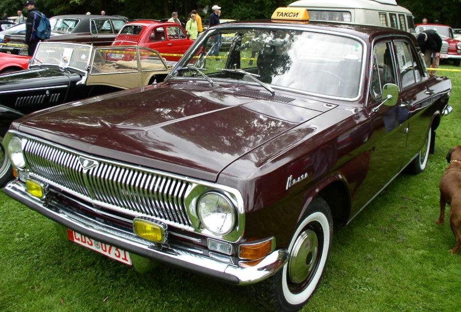 1970 GAZ M24 Volga
