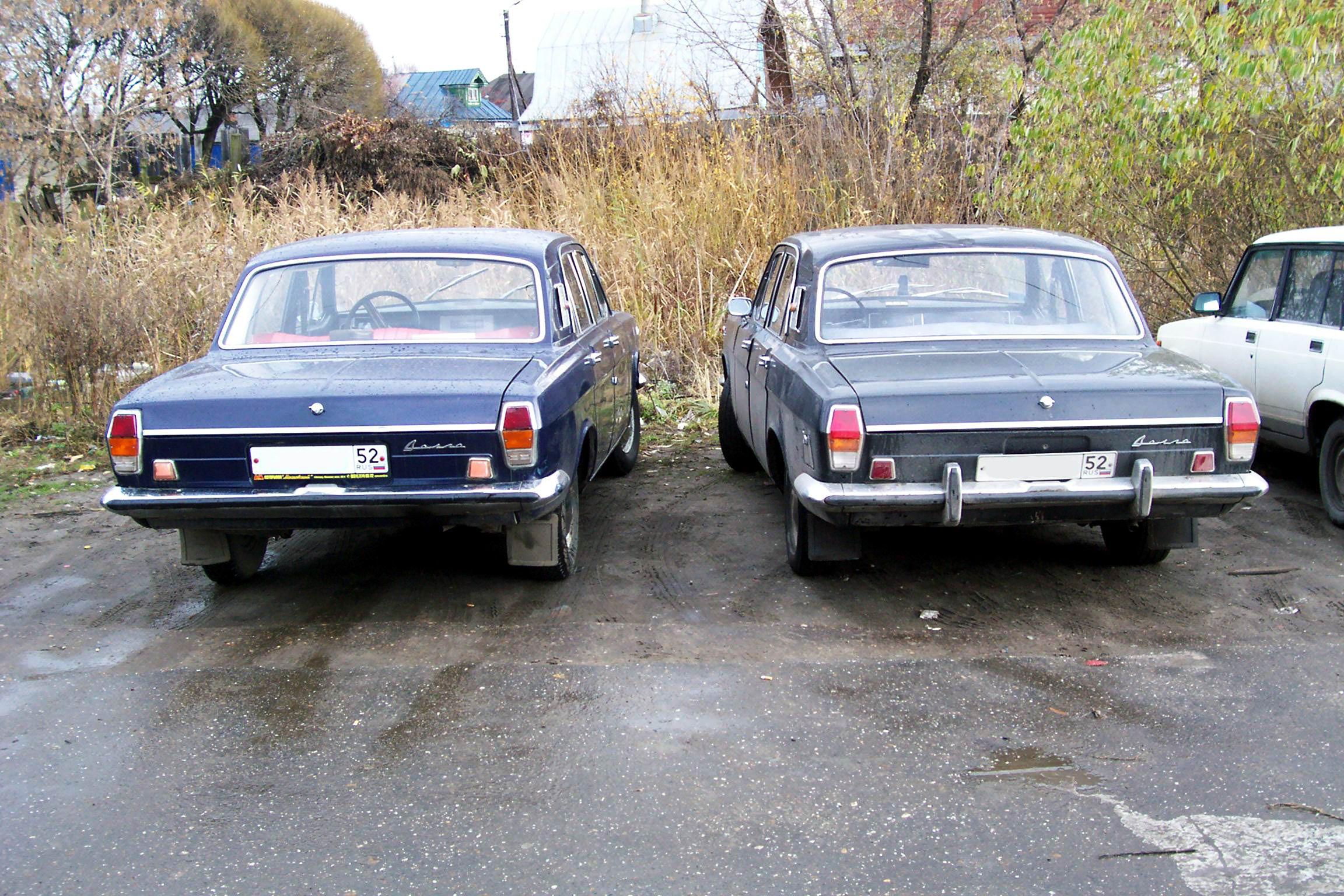 1971 GAZ M24 Volga