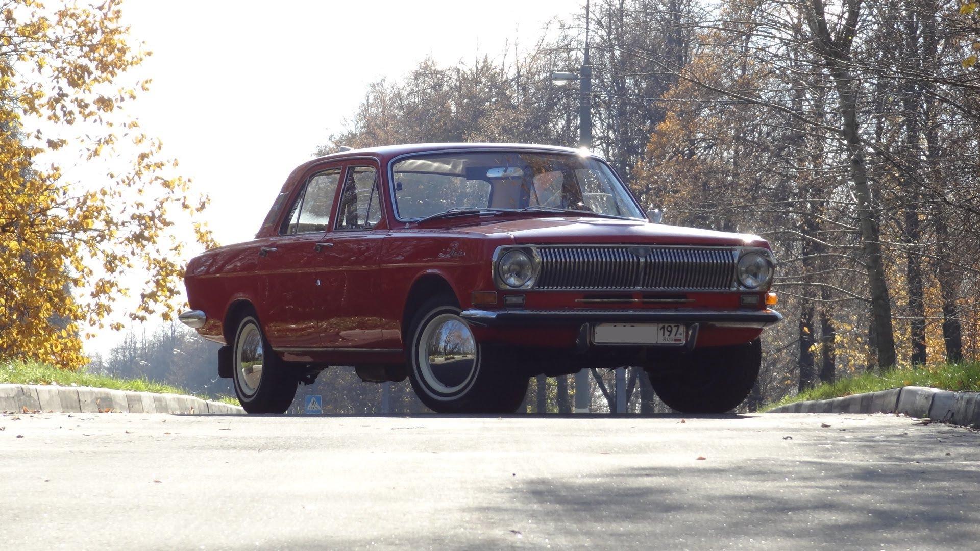 1972 GAZ M24 Volga