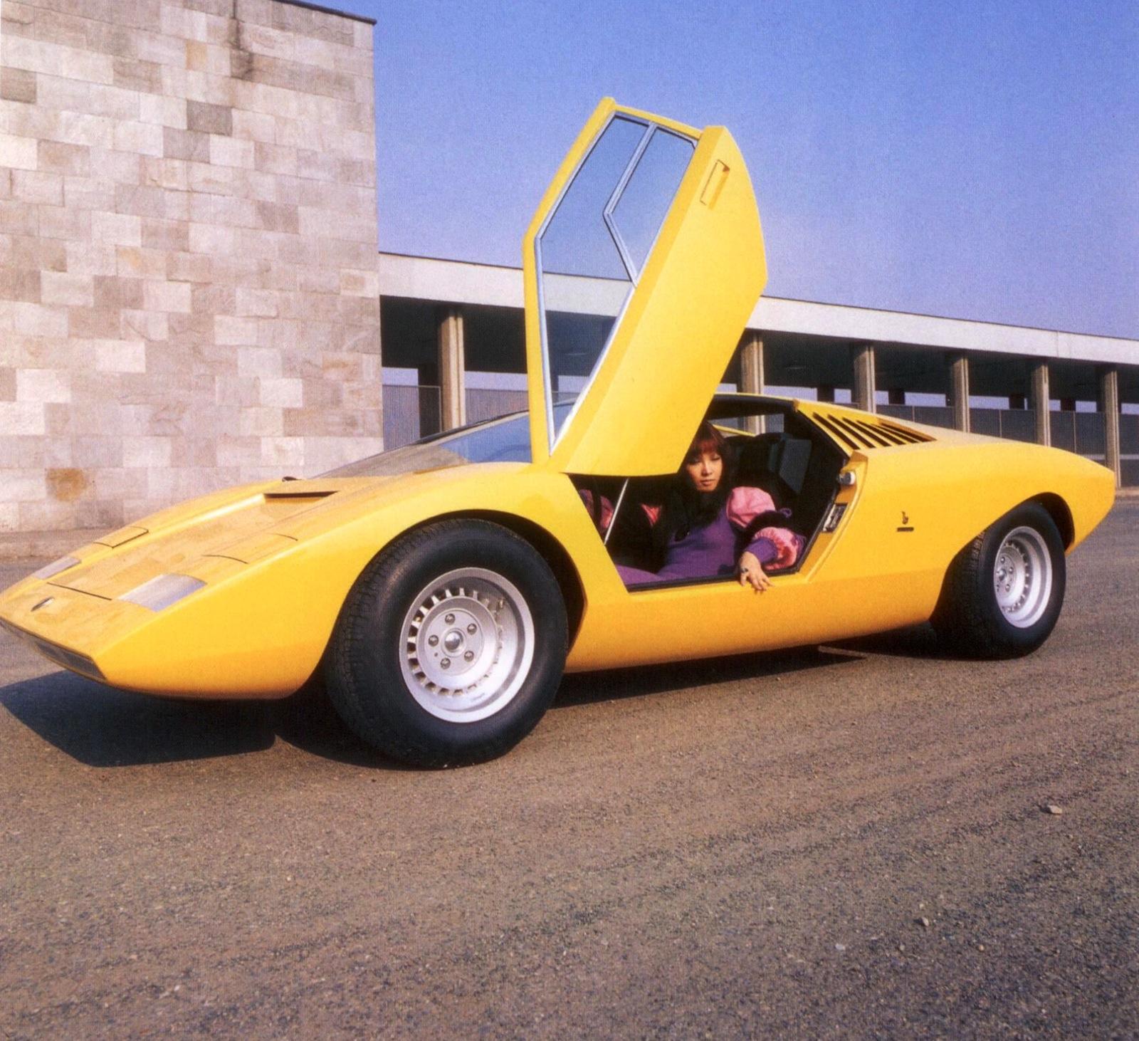 1972 Lamborghini Countach Partsopen