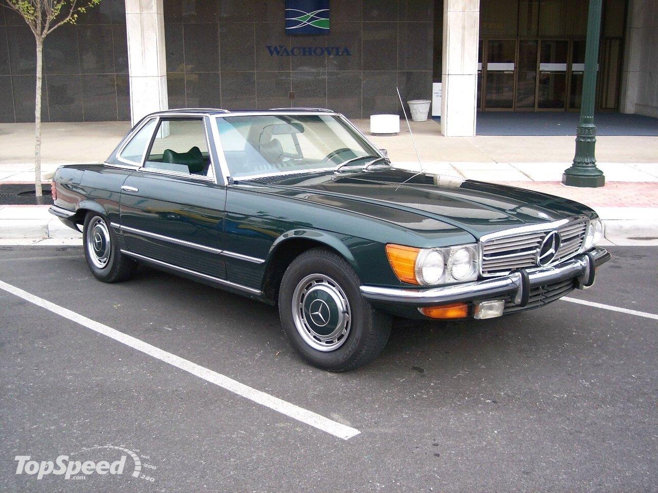 1972 Mercedes R107