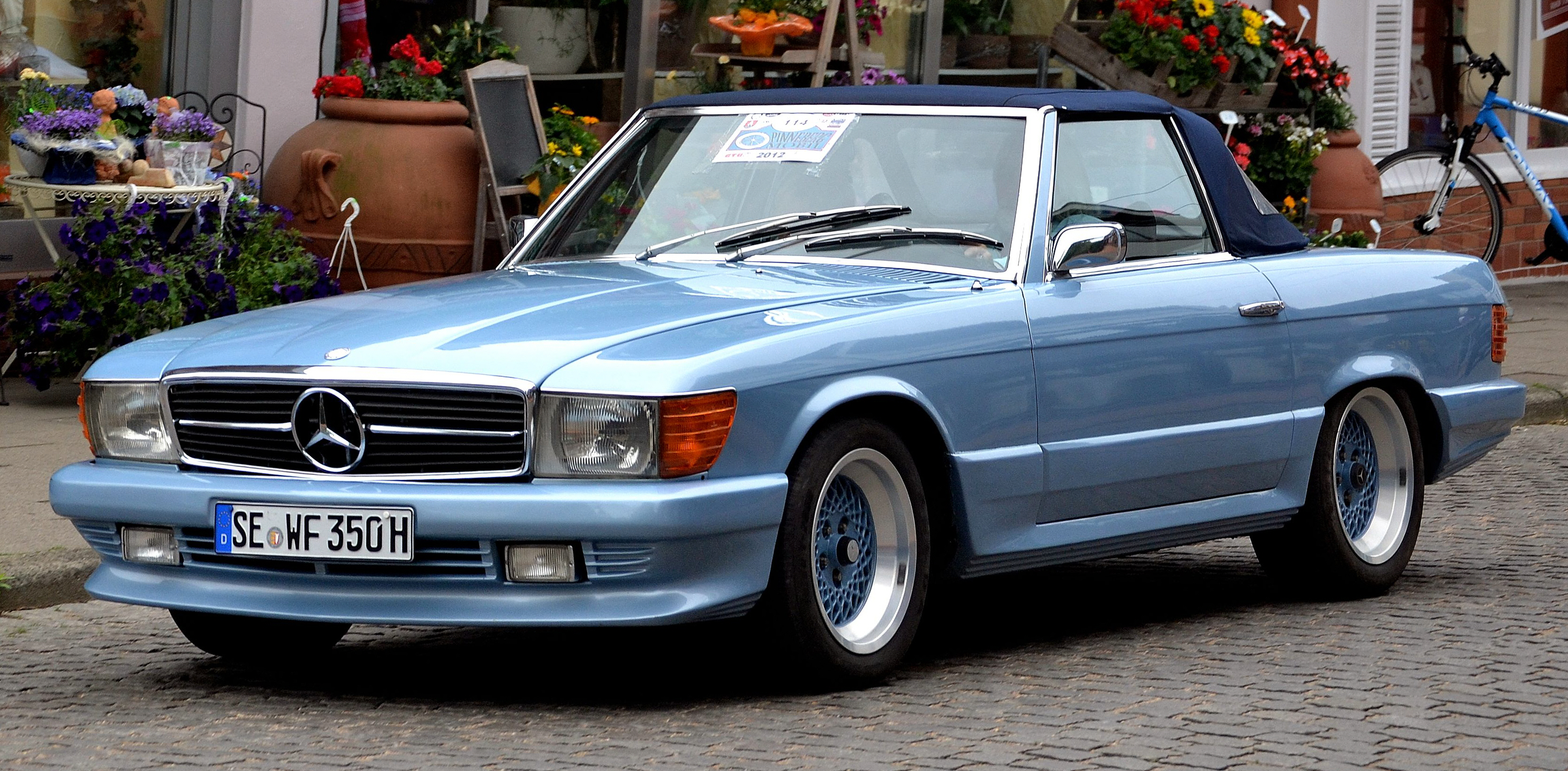 1973 Mercedes R107