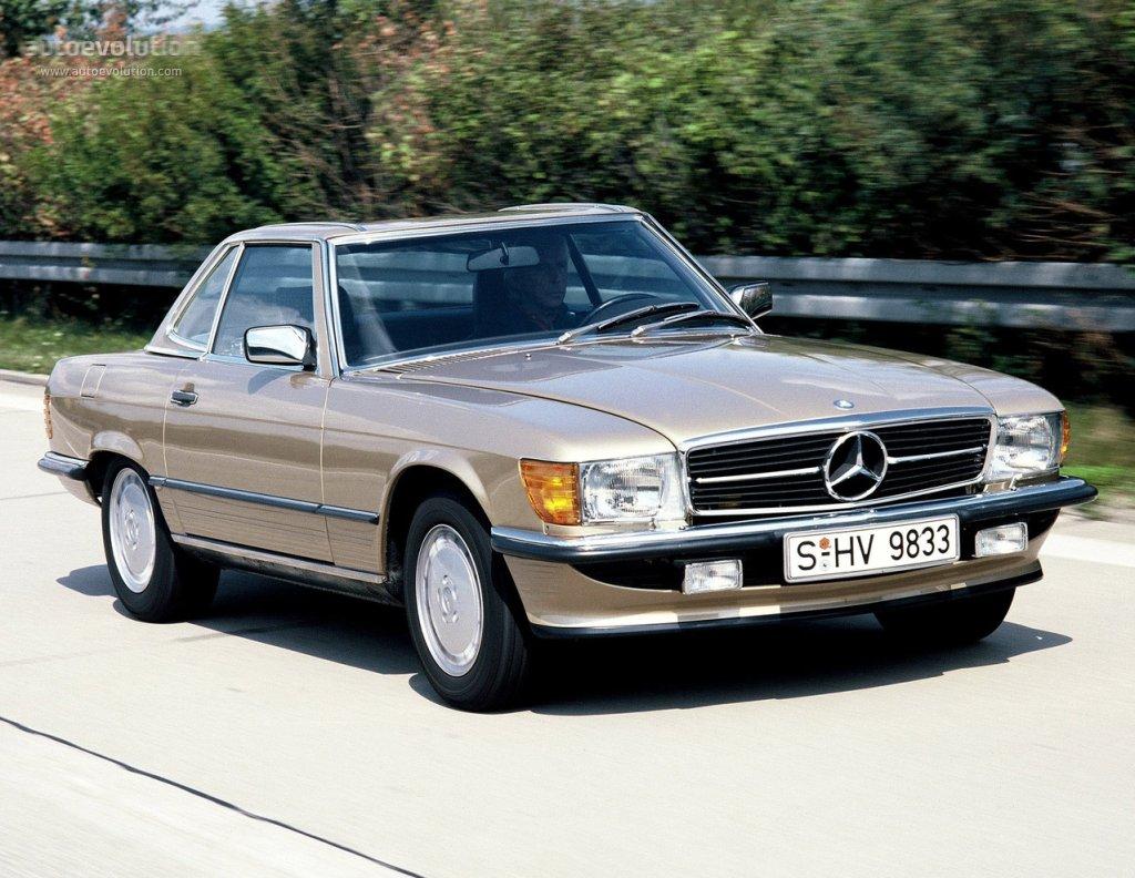 1974 Mercedes R107