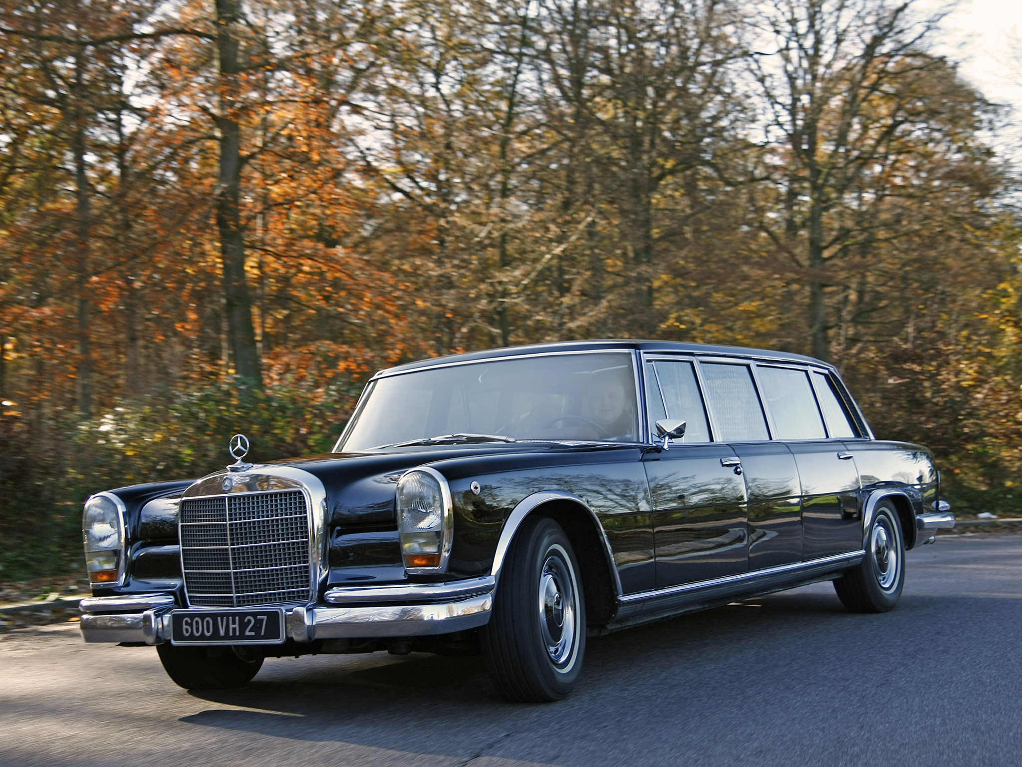 1974 Mercedes W100