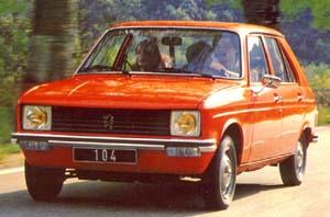 1974 Peugeot 104