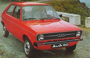 1975 Audi 50 - Partsopen
