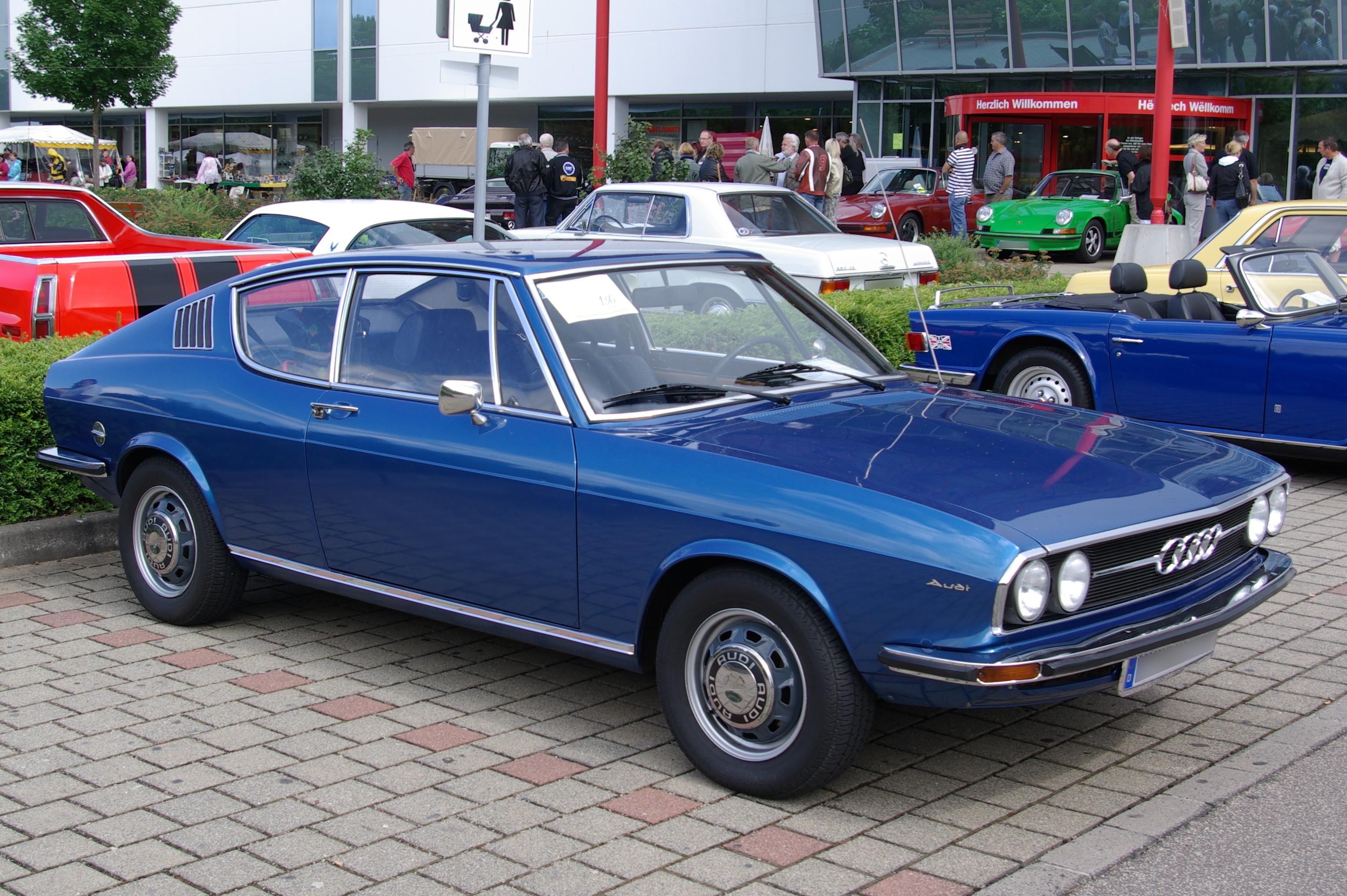 Audi 100 Coupe - Partsopen