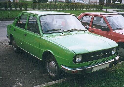 1976 Skoda 105