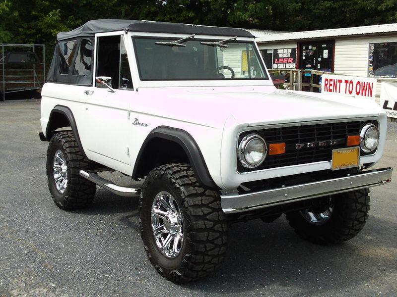 1977 Ford Bronco Partsopen