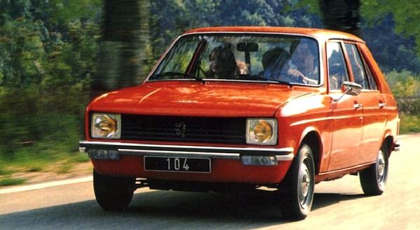 1977 Peugeot 104