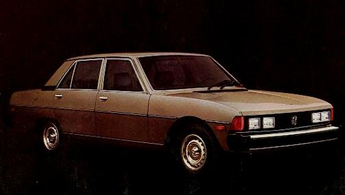 фото peugeot 604, 1978 года