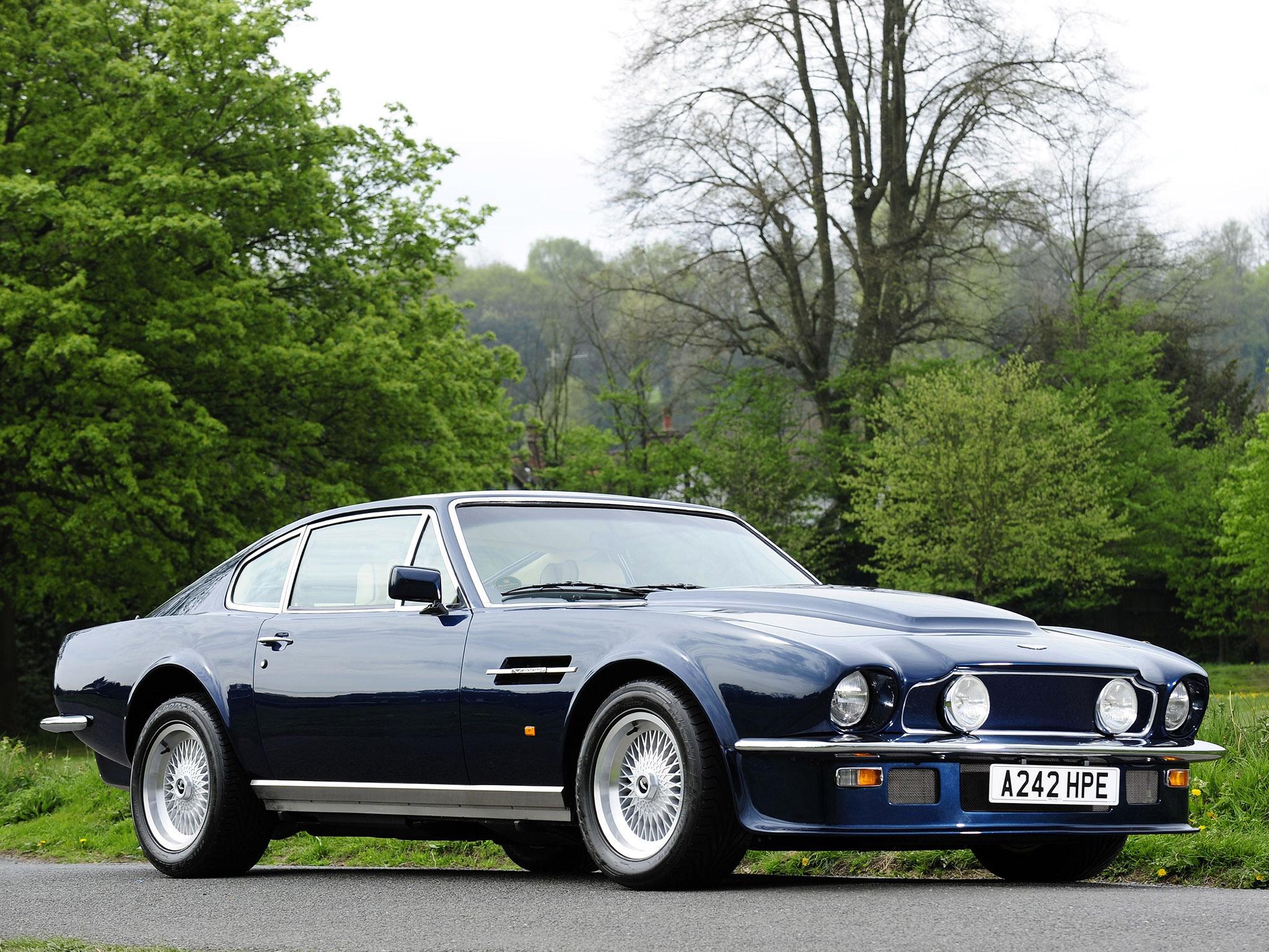 1978 Aston Martin V8 Vantage Partsopen