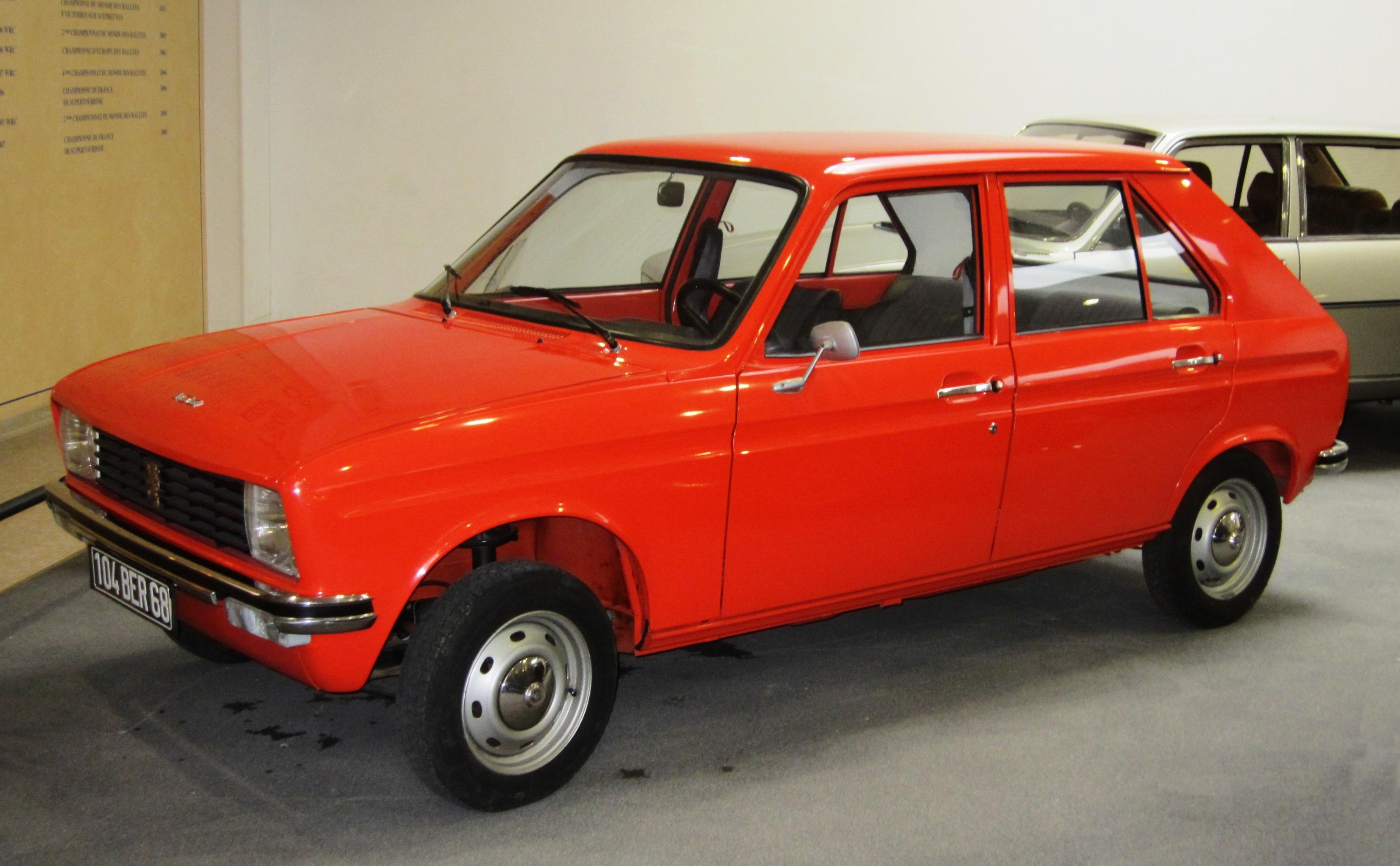 1978 Peugeot 104