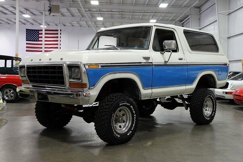 1979 Ford Bronco - Partsopen