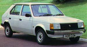 1979 Talbot Horizon