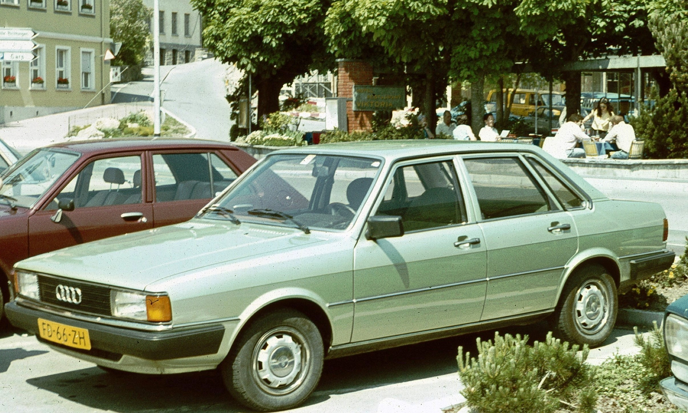 ауди 80 1980 года фото