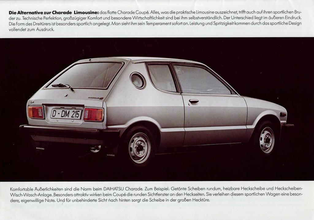 1980 Daihatsu Charade