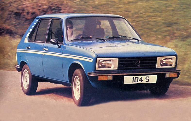 1980 Peugeot 104