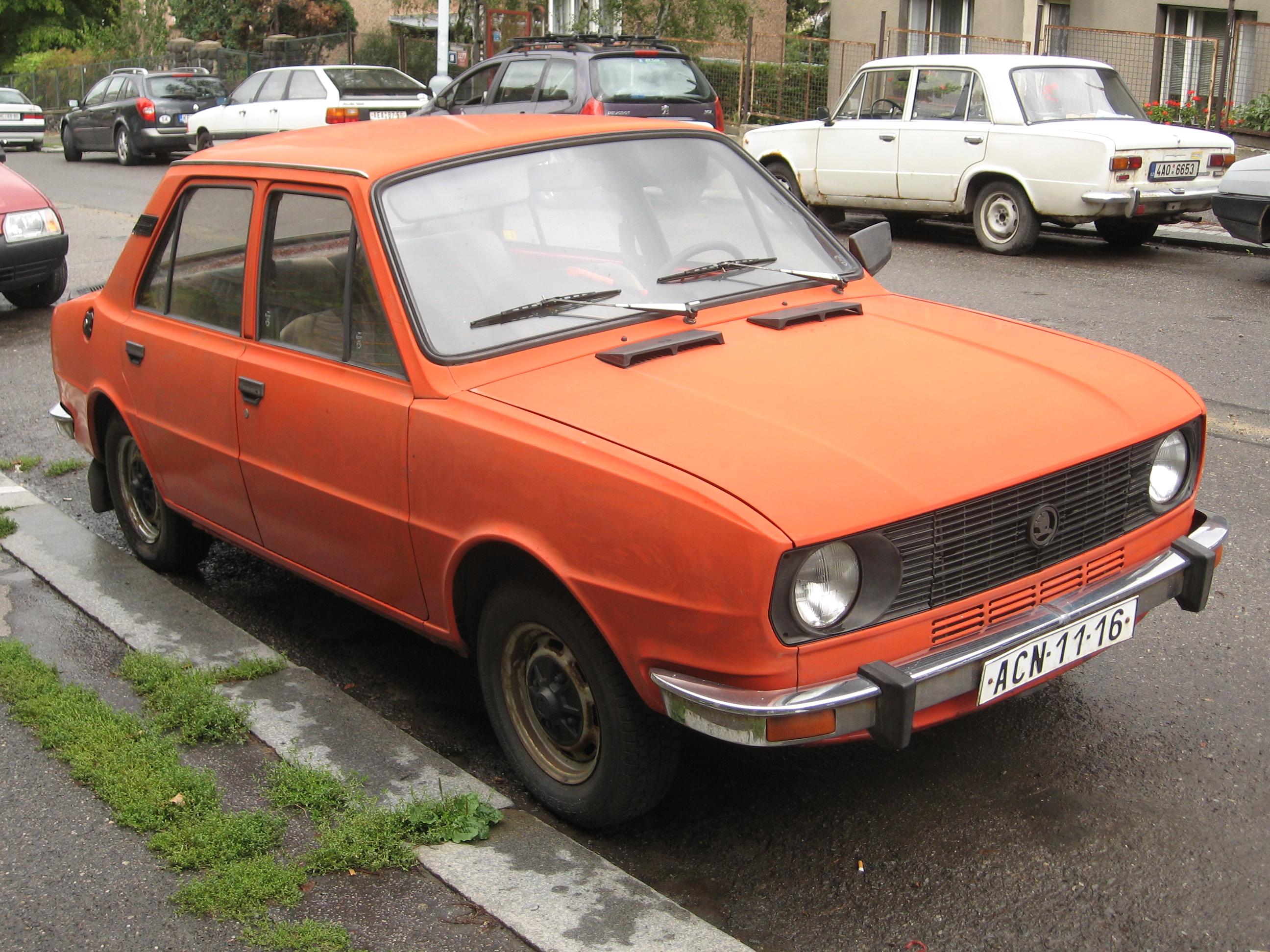 1980 Skoda 105