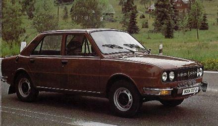 1981 Skoda 105
