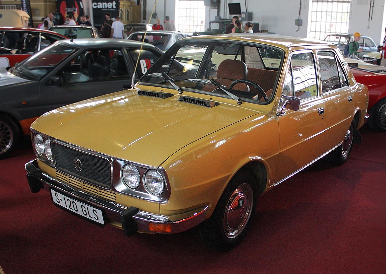 1981 Skoda 120
