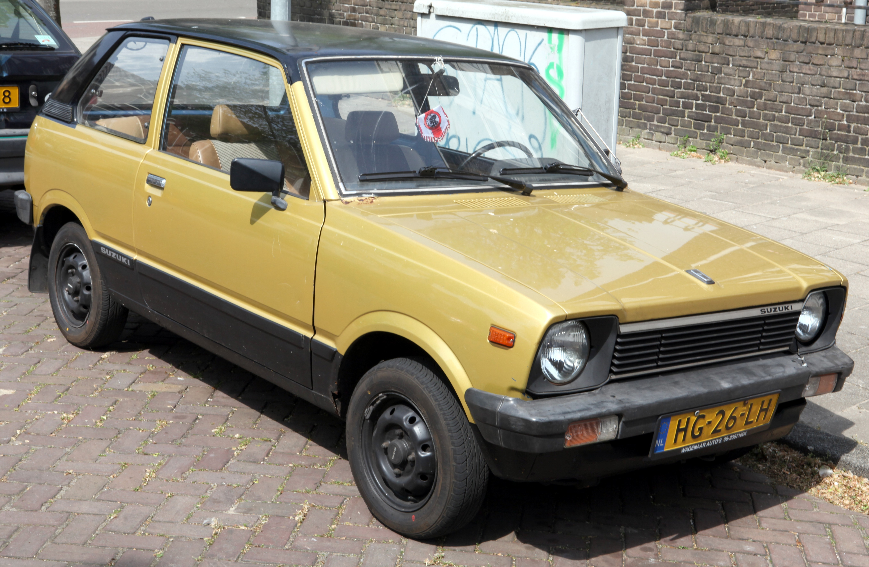 1981 Suzuki Alto Partsopen