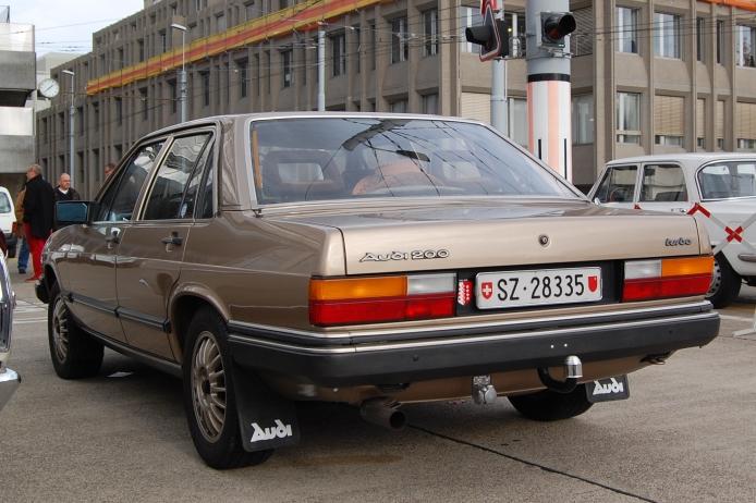 1982 Audi 100⁄ 200 - Partsopen