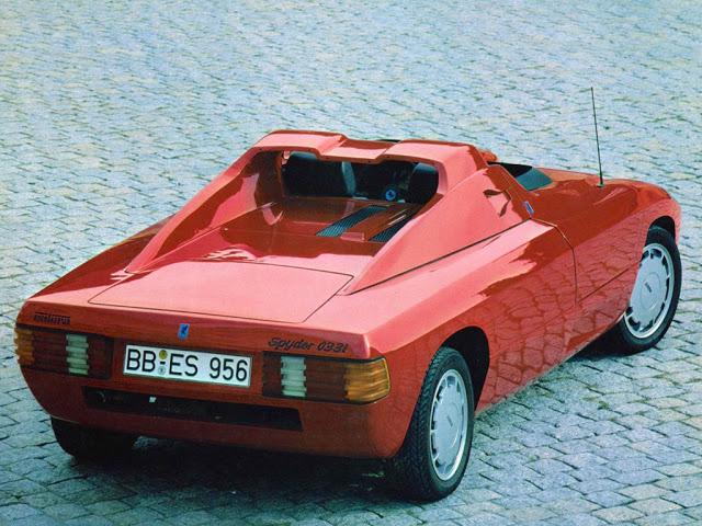 1982 Isdera Spyder