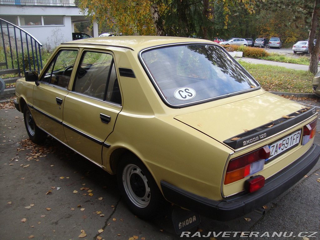 1982 Skoda 120