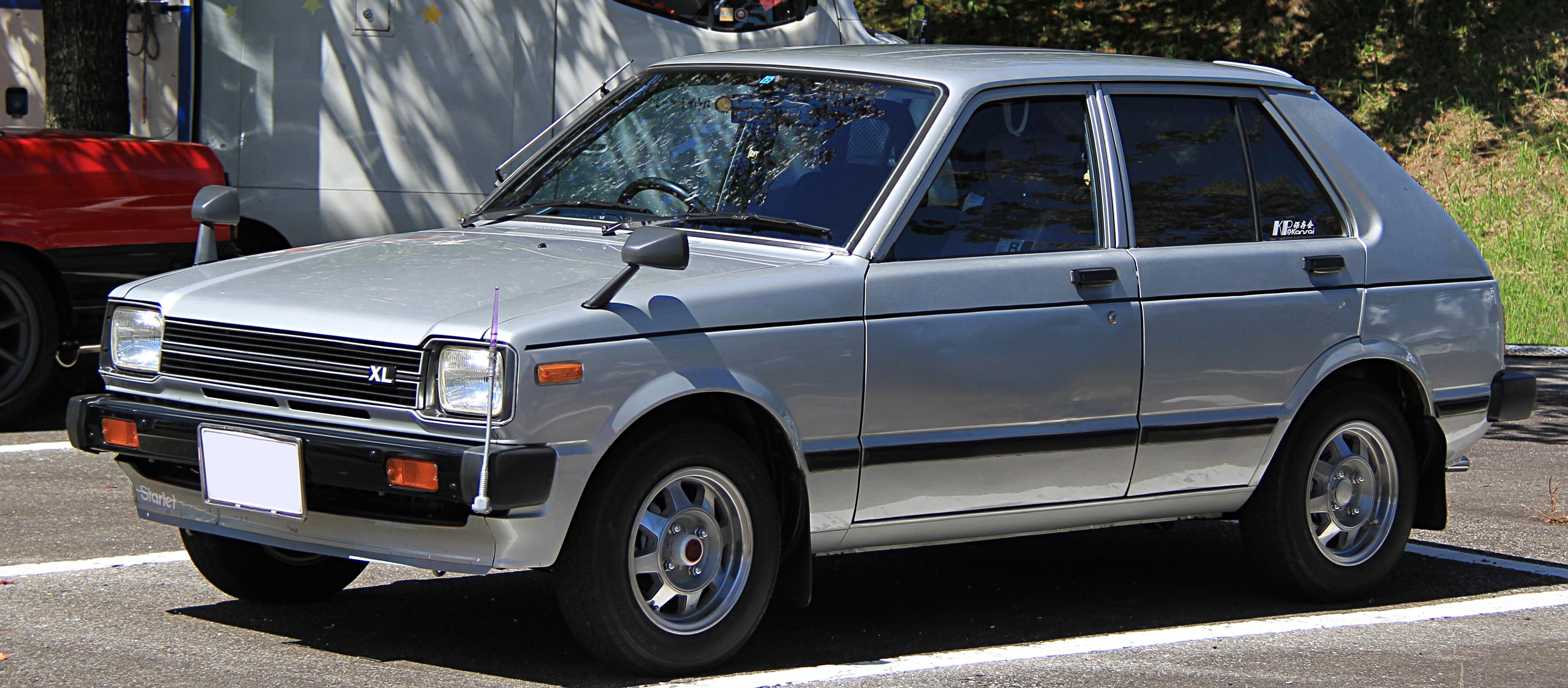 1982 Toyota Starlet