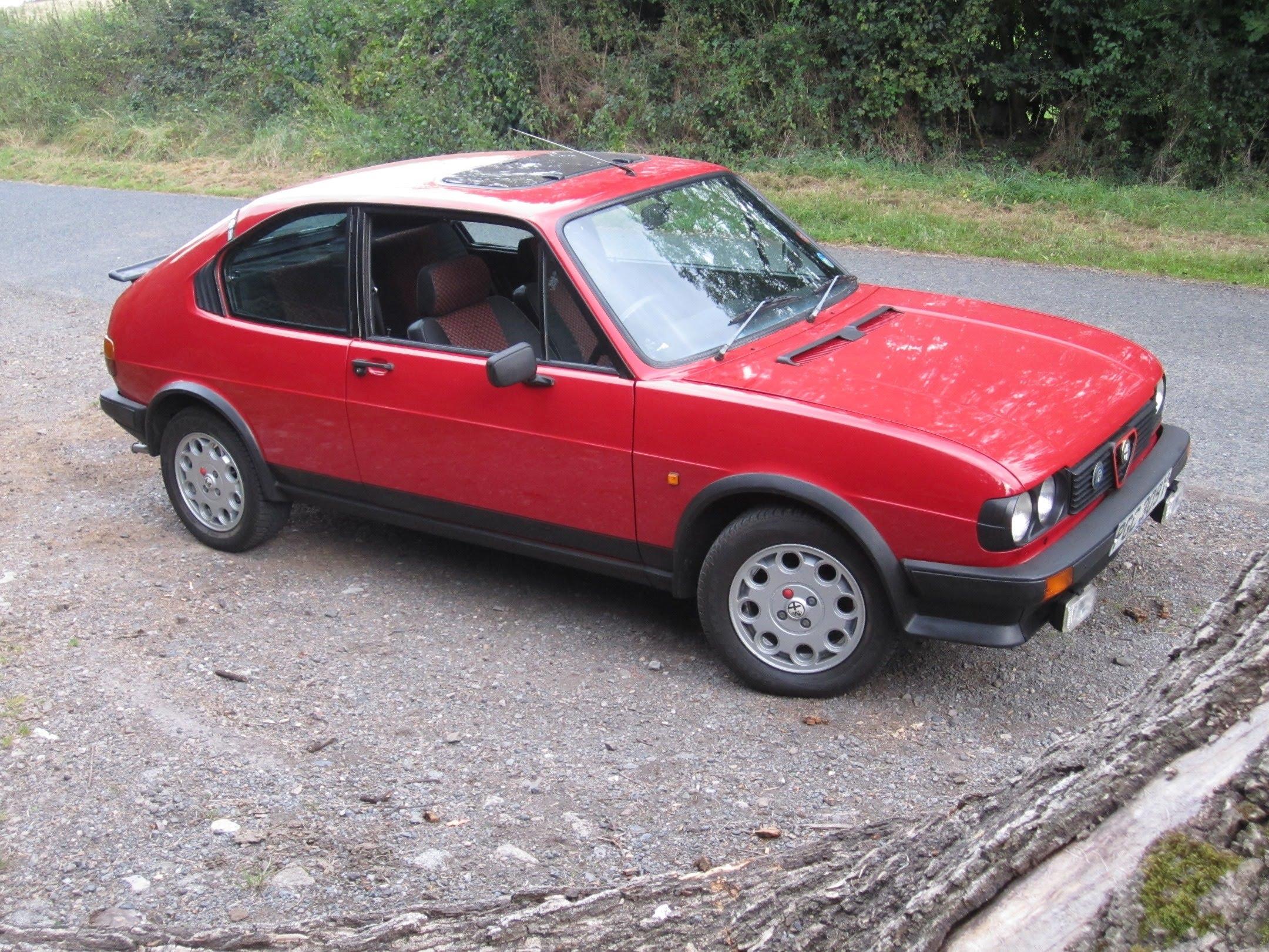 1983 Alfa Romeo Alfasud