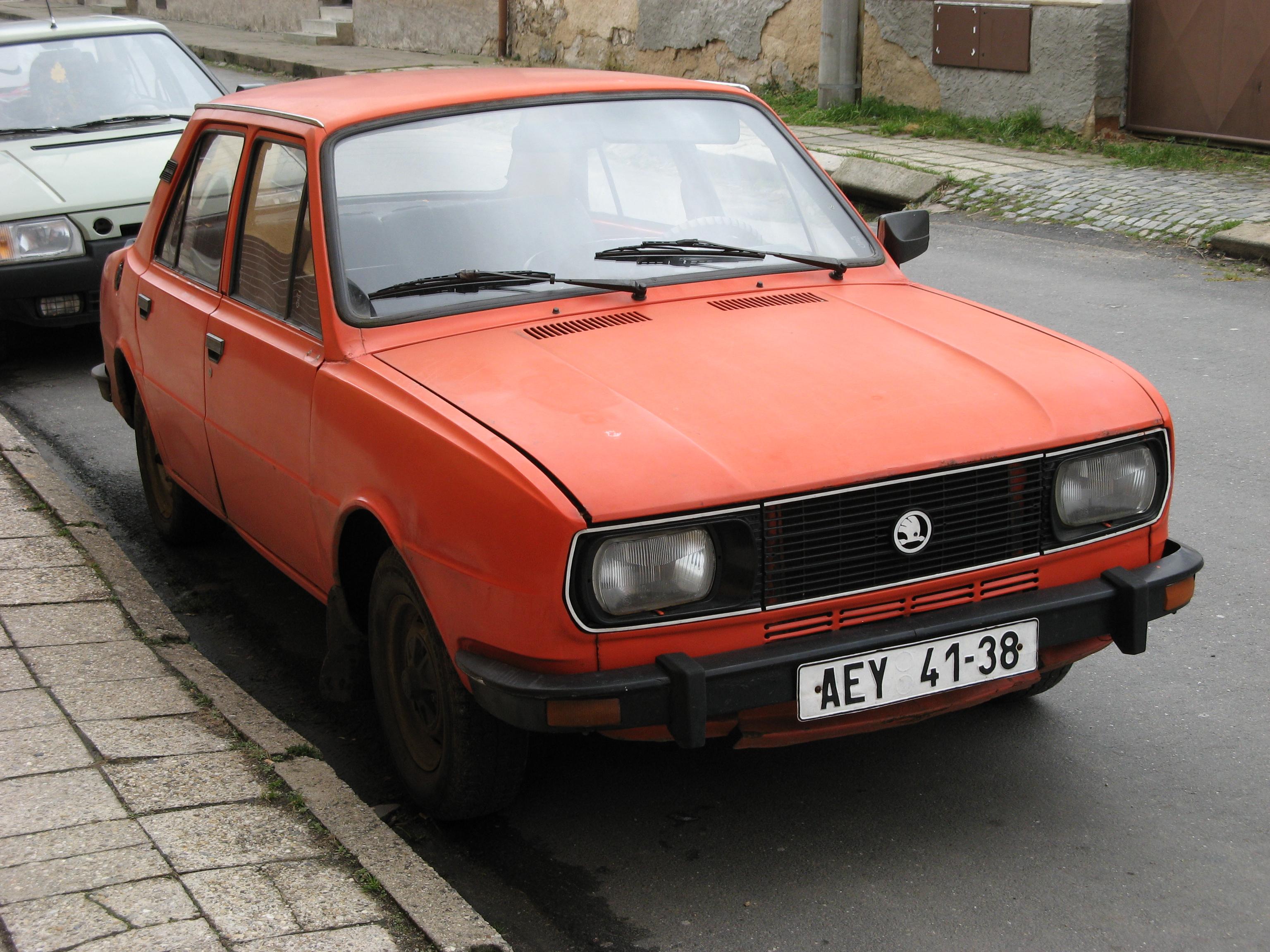1983 Skoda 105