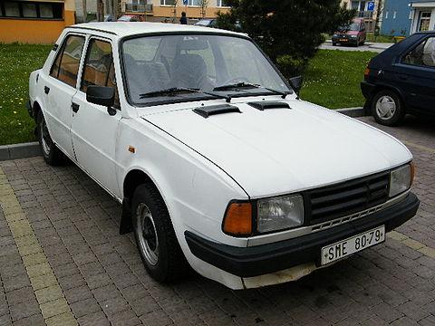 1983 Skoda 125