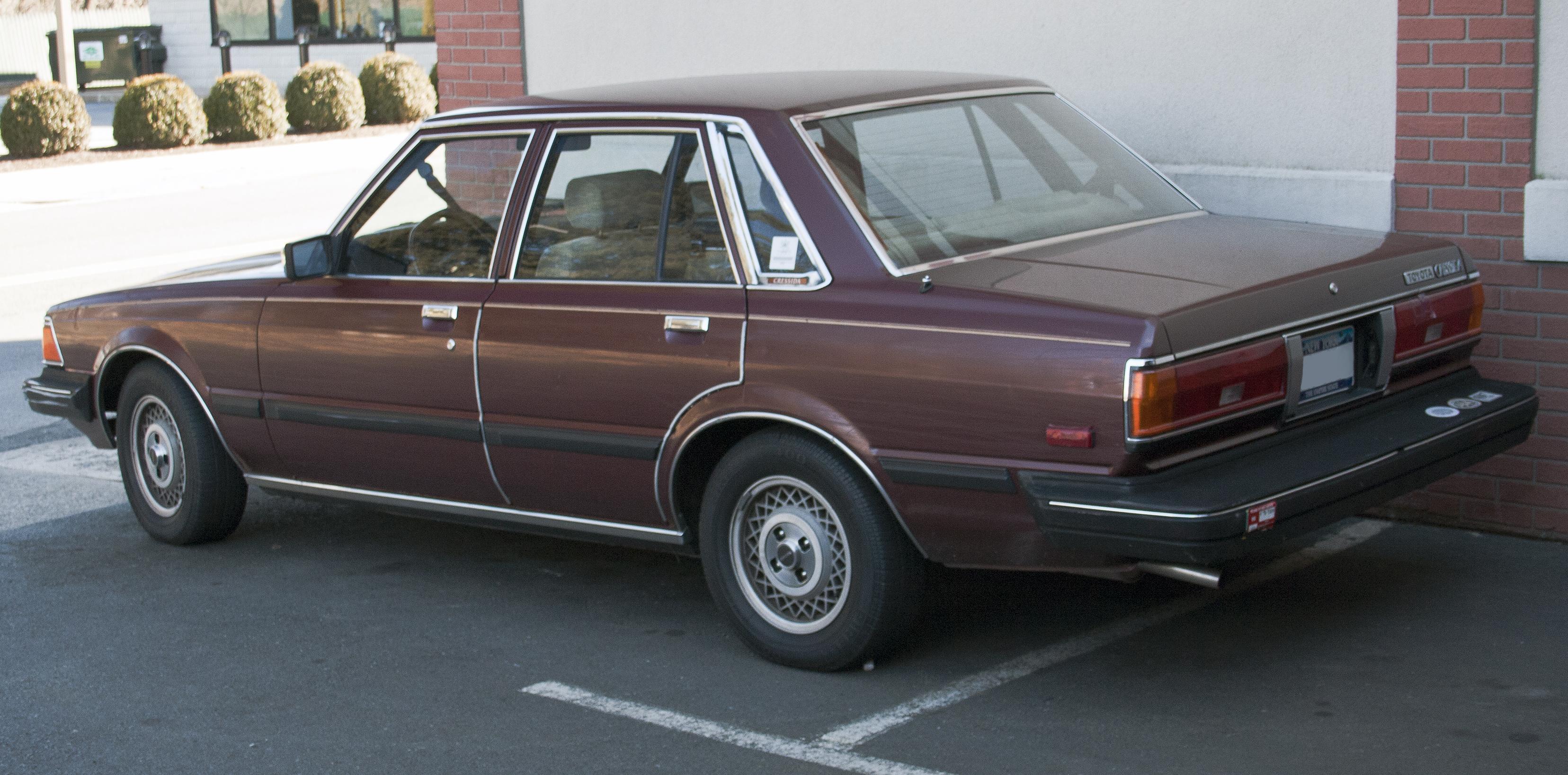 1983 Toyota Cressida Partsopen