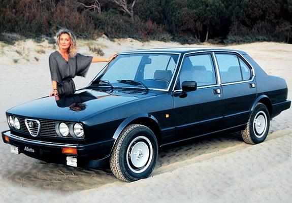 1984 Alfa Romeo Alfetta